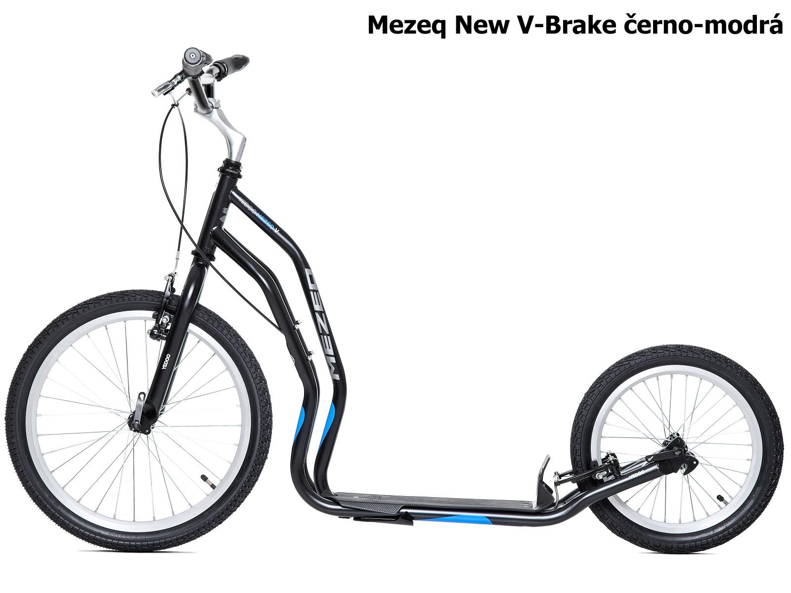 Koloběžka YEDOO Mezeq New V-Brake 20-16 černo-modrá