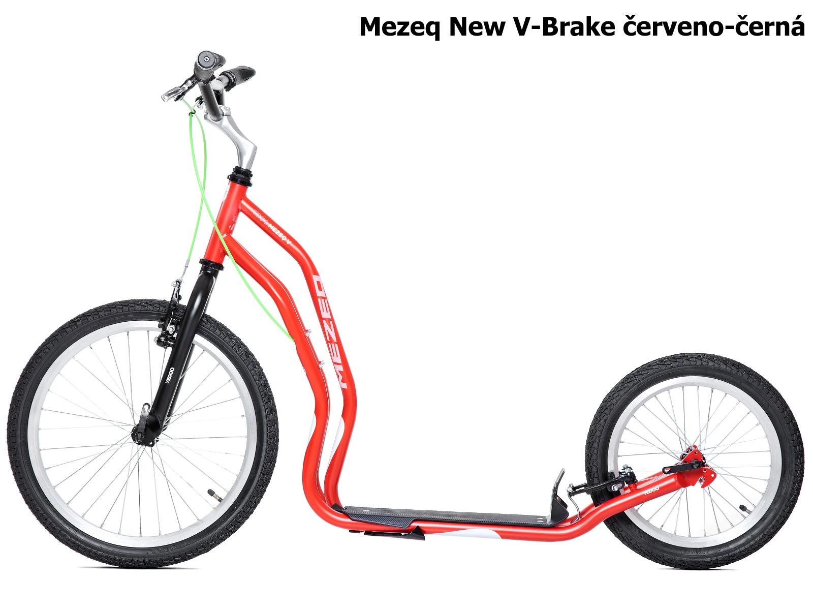 Koloběžka YEDOO Mezeq New V-Brake 20-16 červeno-černá