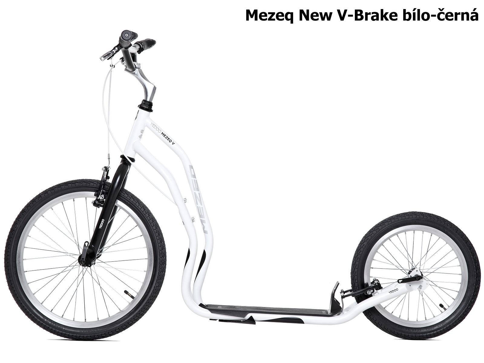 Koloběžka YEDOO Mezeq New V-Brake 20-16 bílo-černá