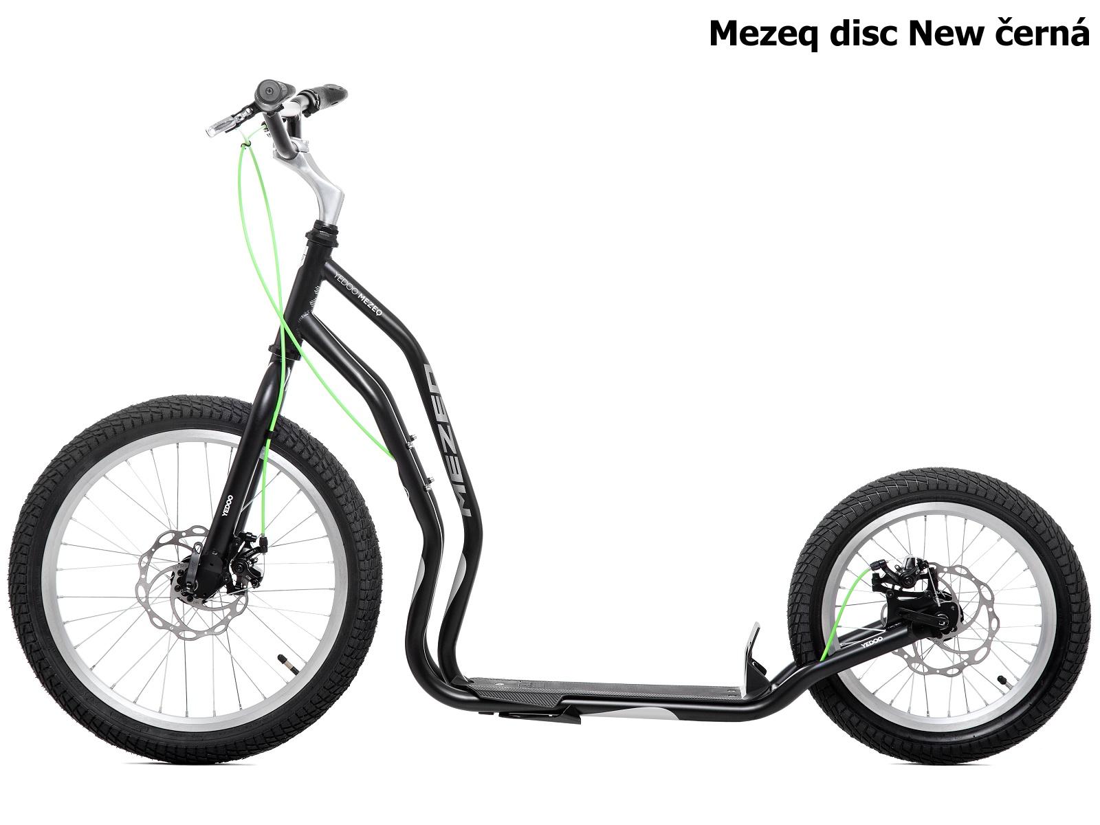 Koloběžka YEDOO Mezeq disc New 20-16 černá