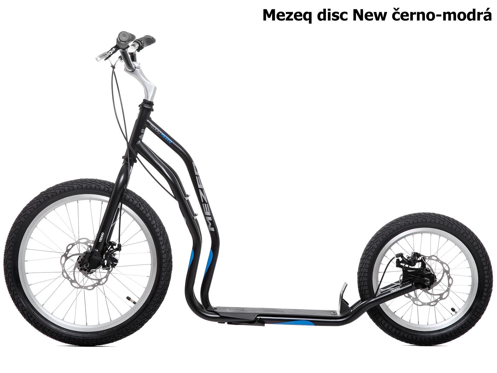 Koloběžka YEDOO Mezeq disc New 20-16 černo-modrá