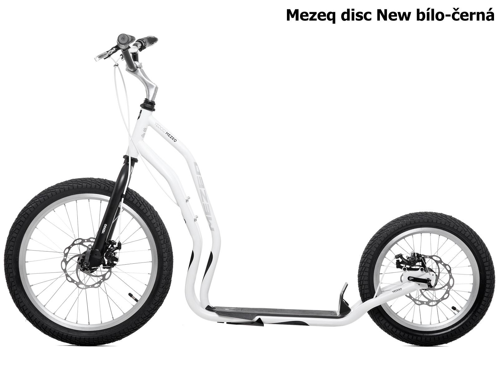 Koloběžka YEDOO Mezeq disc New 20-16 bílo-černá