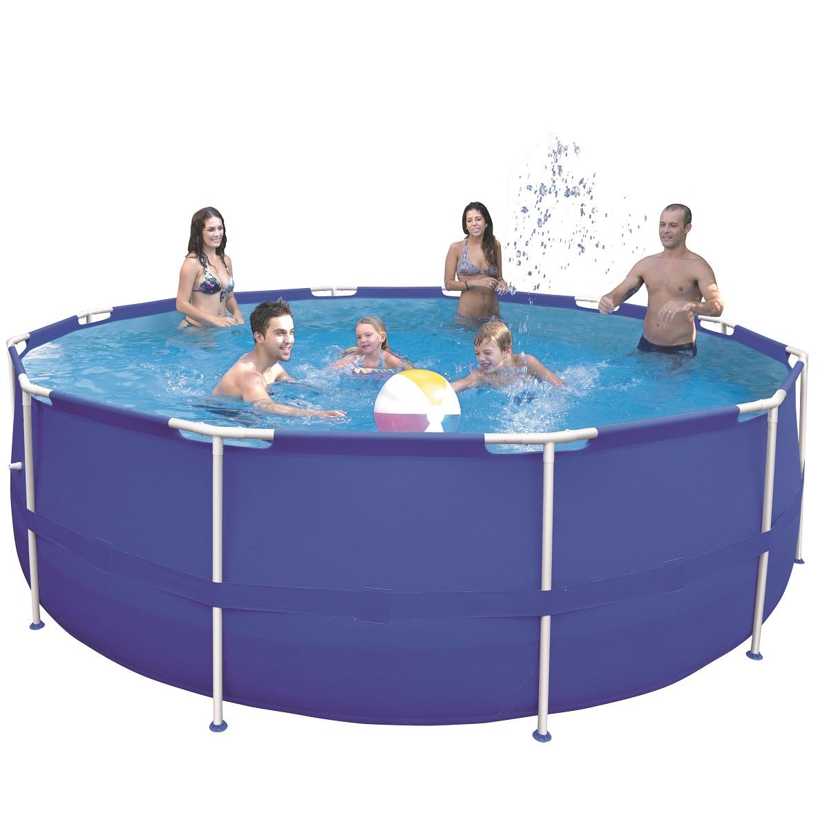 Bazén Steel Frame Pool 450 x 122 cm set s kartušovou filtrací