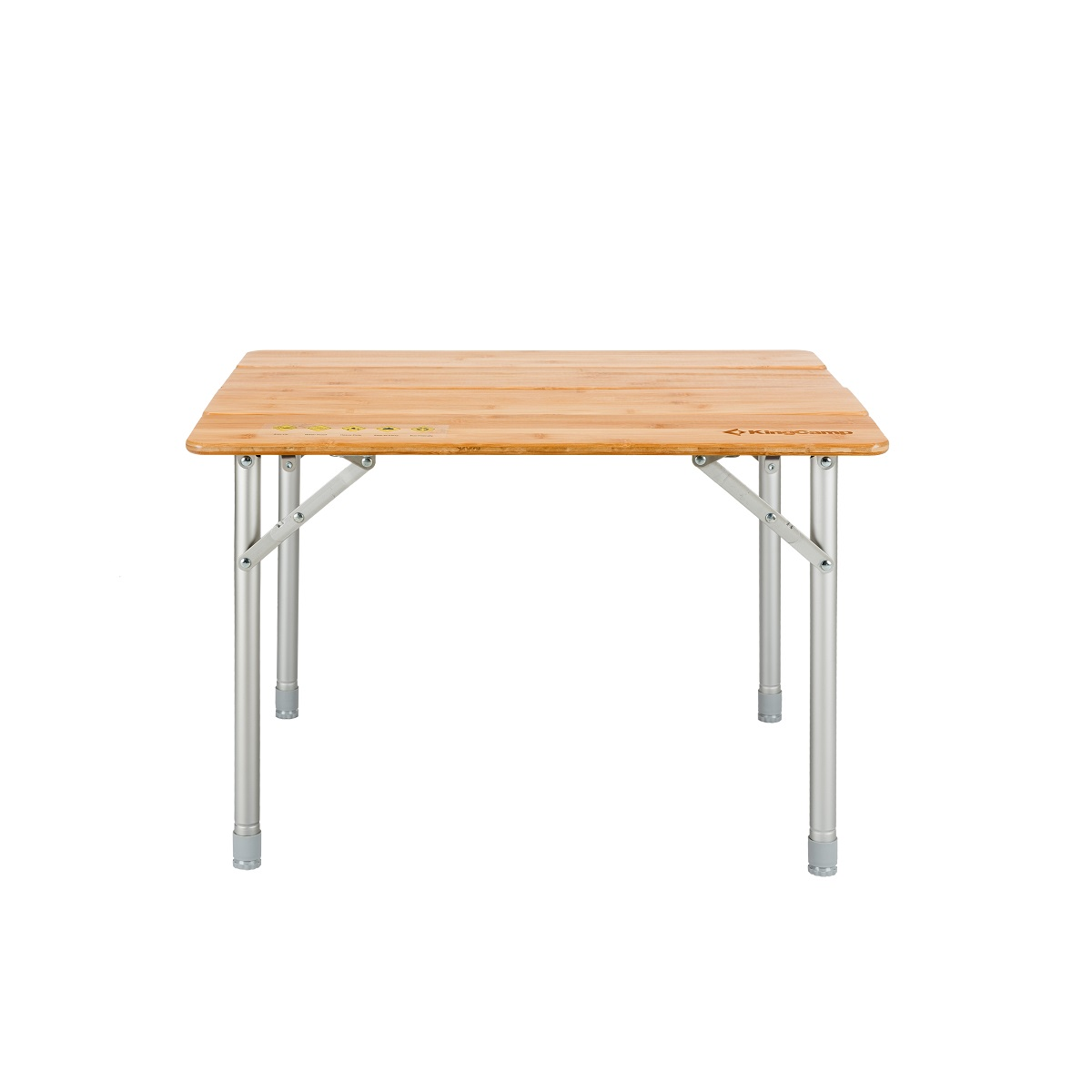 Camping stůl Bamboo Color 65 x 50 cm