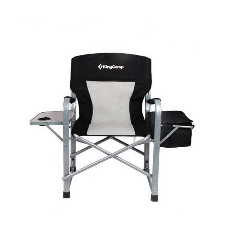 Campingová skládací židle s opěrkami Director Deluxe