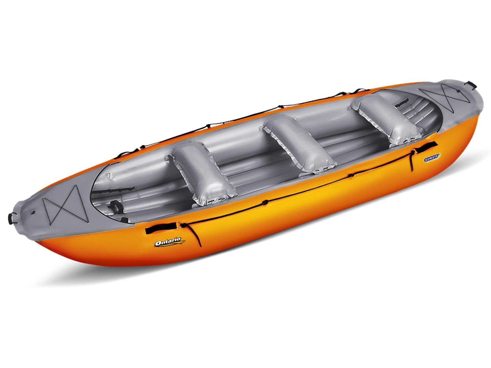 Nafukovací raft GUMOTEX Ontario 420 oranžovo-šedý