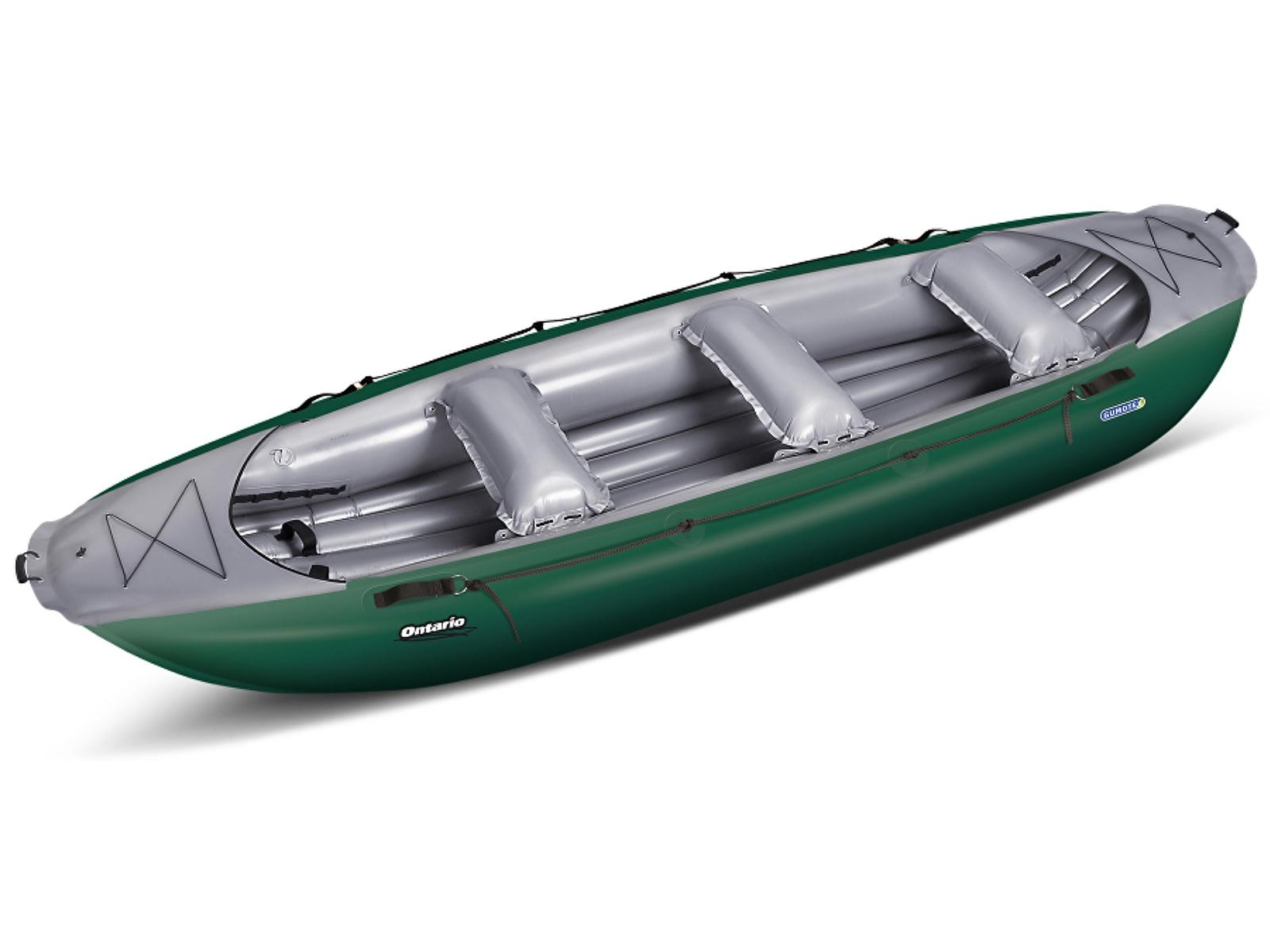 Nafukovací raft GUMOTEX Ontario 420 zeleno-šedý