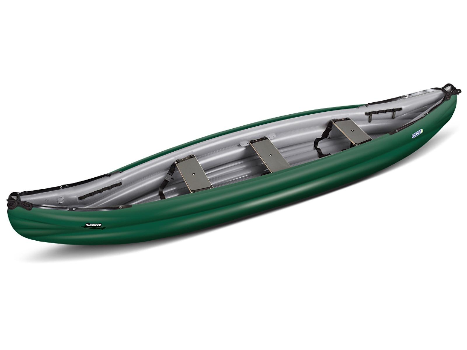 Nafukovací kanoe GUMOTEX Scout Standard zeleno-šedá