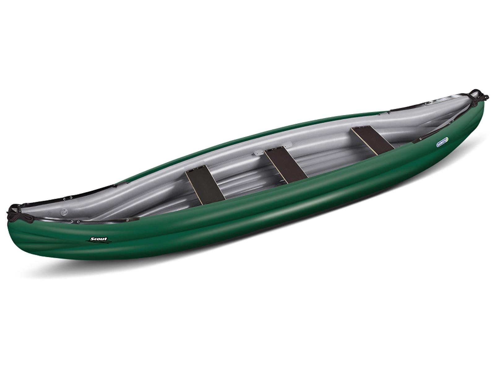 Nafukovací kanoe GUMOTEX Scout Economy zeleno-šedá
