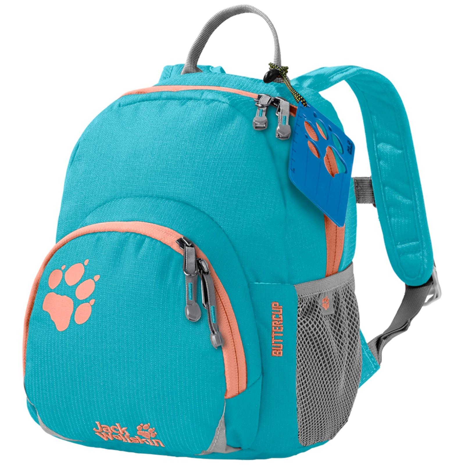 Dětský batoh JACK WOLFSKIN Buttercup - světle modrý