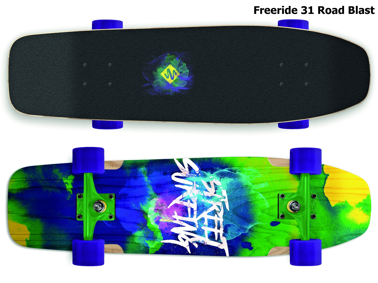Skateboard STREET SURFING Freeride 31 Road Blast