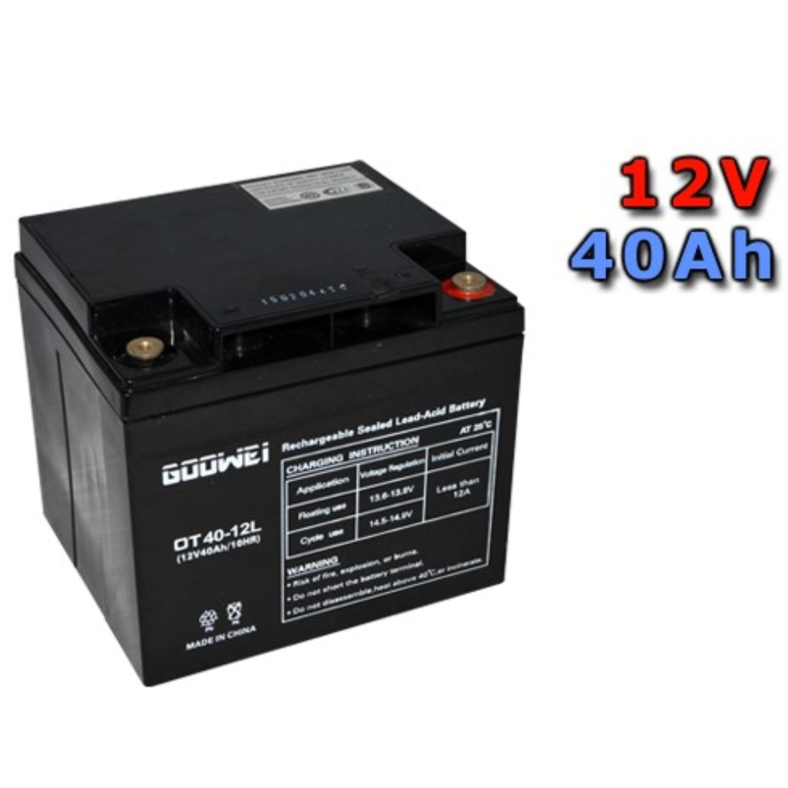 Trakční gelová baterie GOOWEI OTL40-12 40Ah