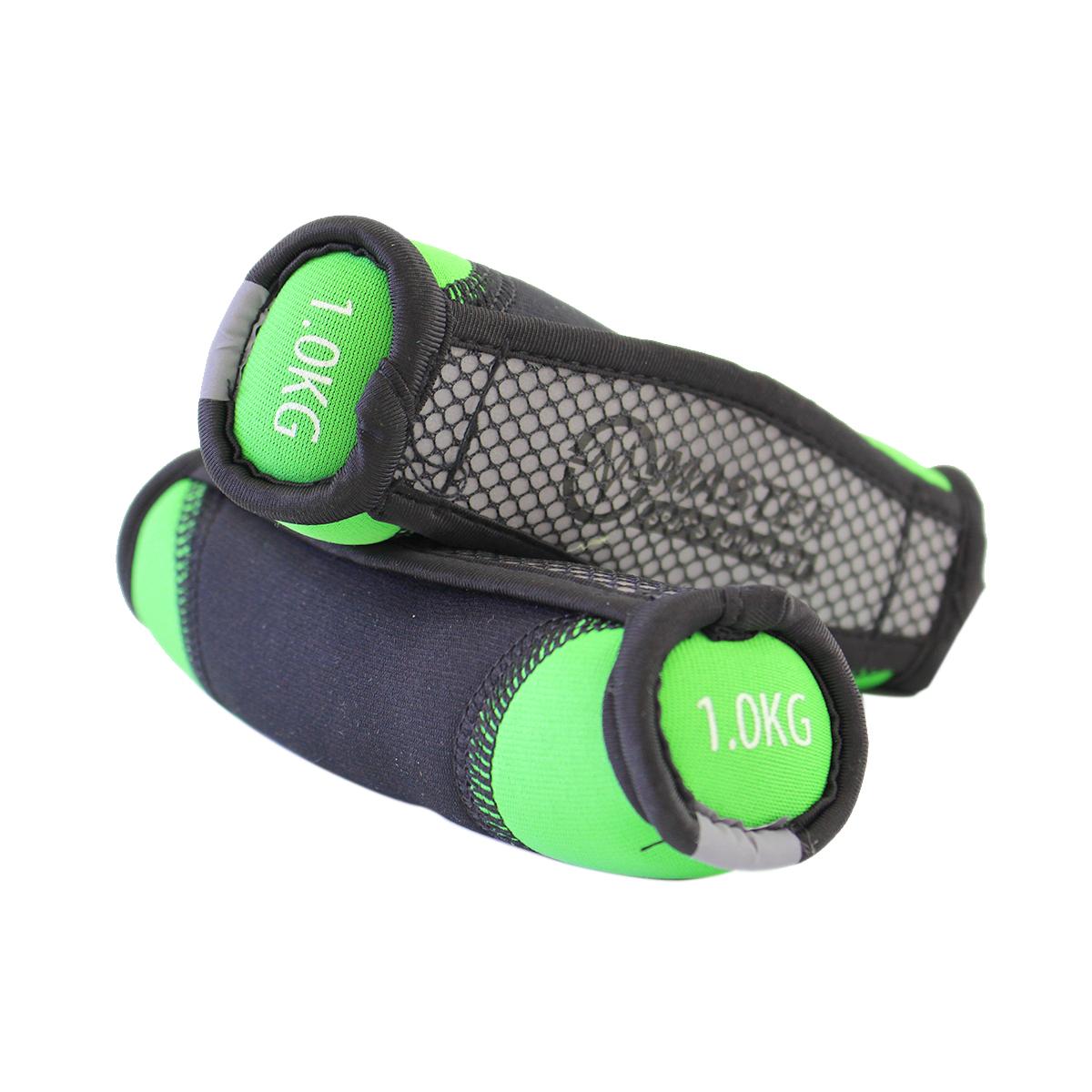 Neoprenové jednoruční činky MASTER Jogging 2 x 1 kg
