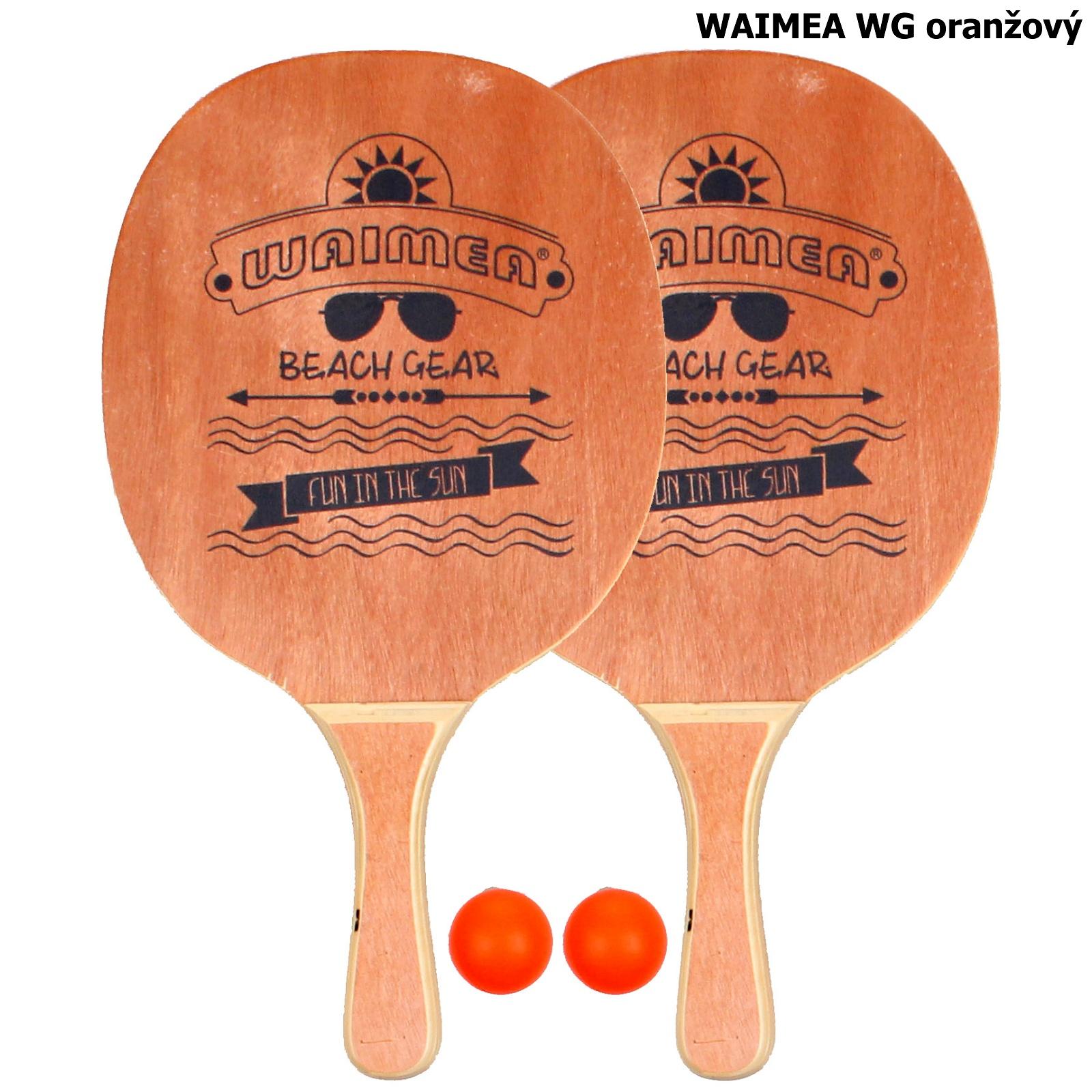Plážový tenis WAIMEA WG - oranžový