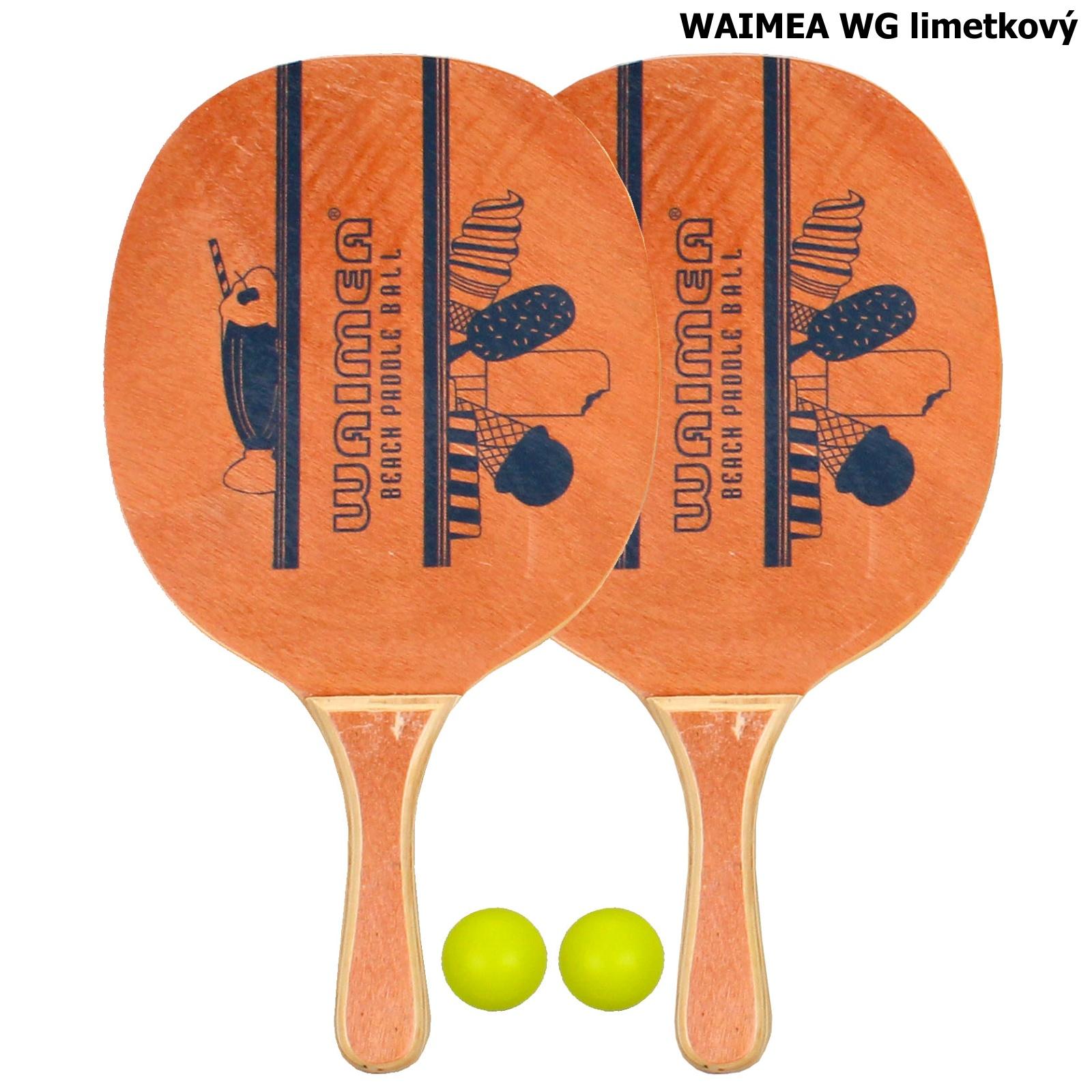 Plážový tenis WAIMEA WG - limetkový