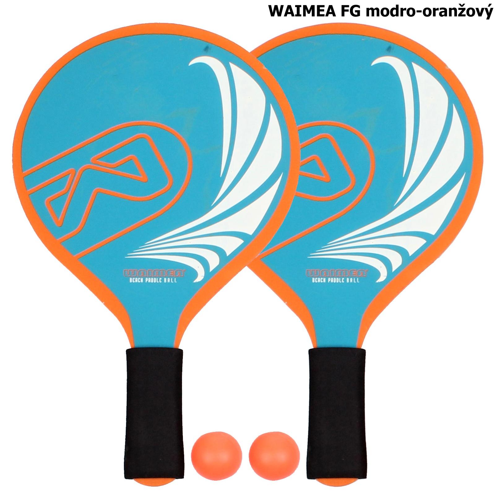 Plážový tenis WAIMEA FG - modro-oranžový