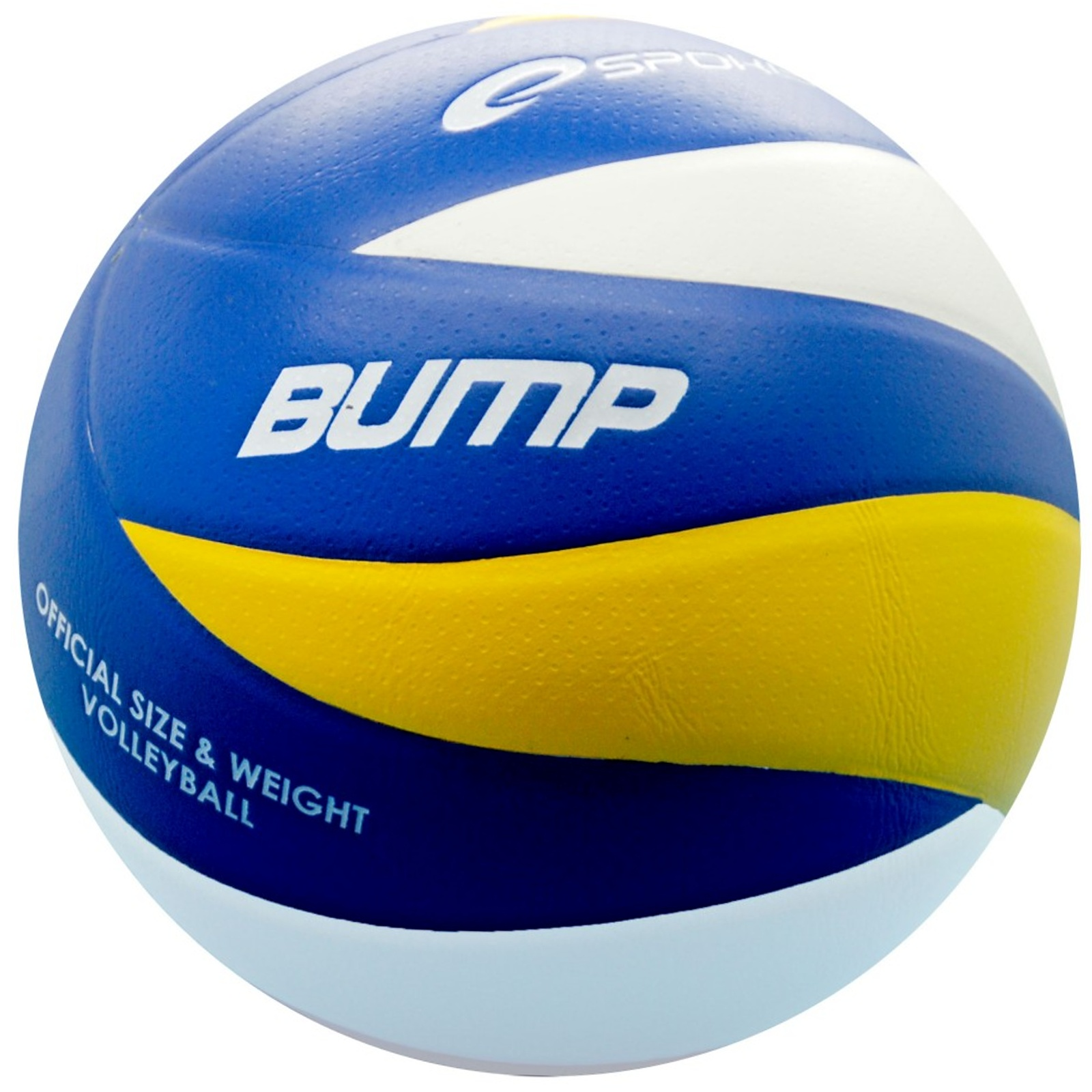 Volejbalový míč SPOKEY Bump II - modrý