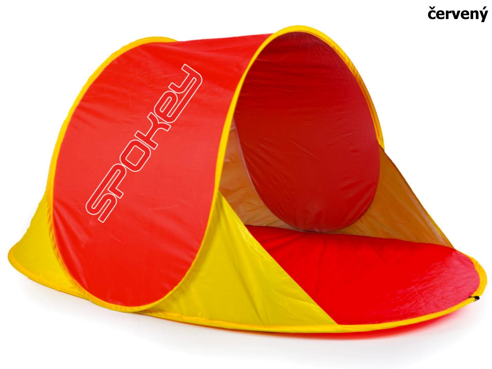 Stan SPOKEY Nimbus plážový paravan - červený