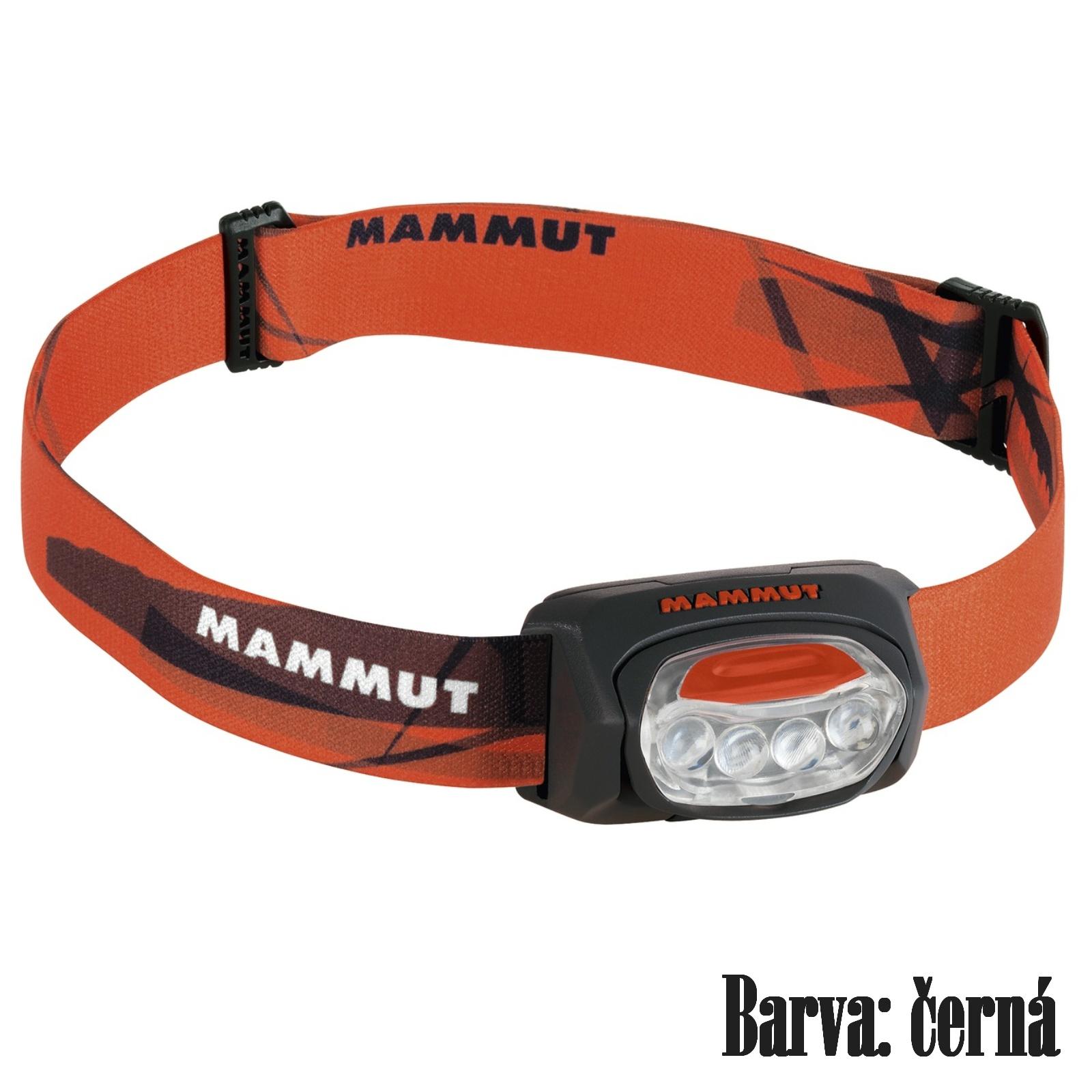 Čelovka MAMMUT T-Trail - černá