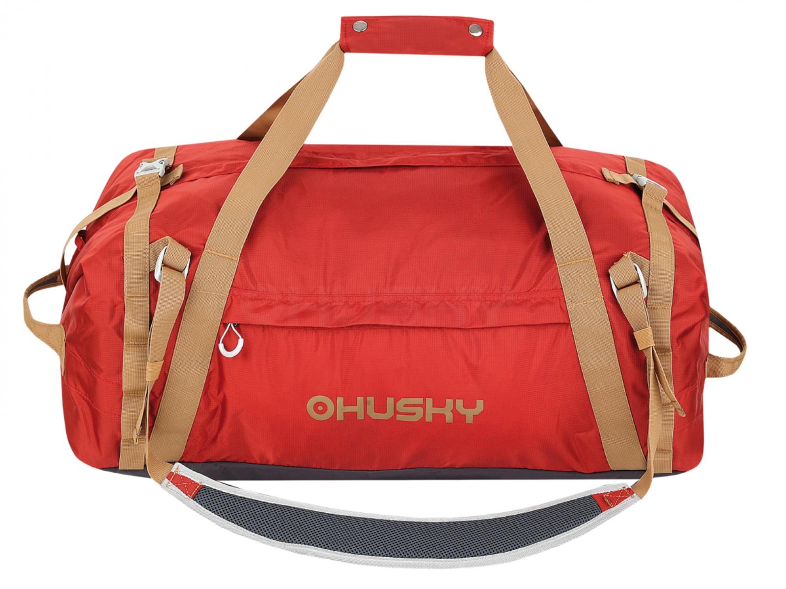 Sportovní taška HUSKY Goody 80 l - oranžová