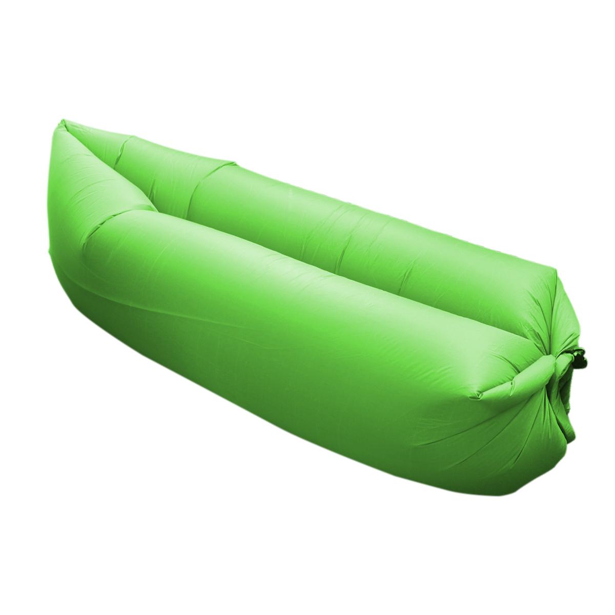 Nafukovací vak MASTER Lazy Air - zelený