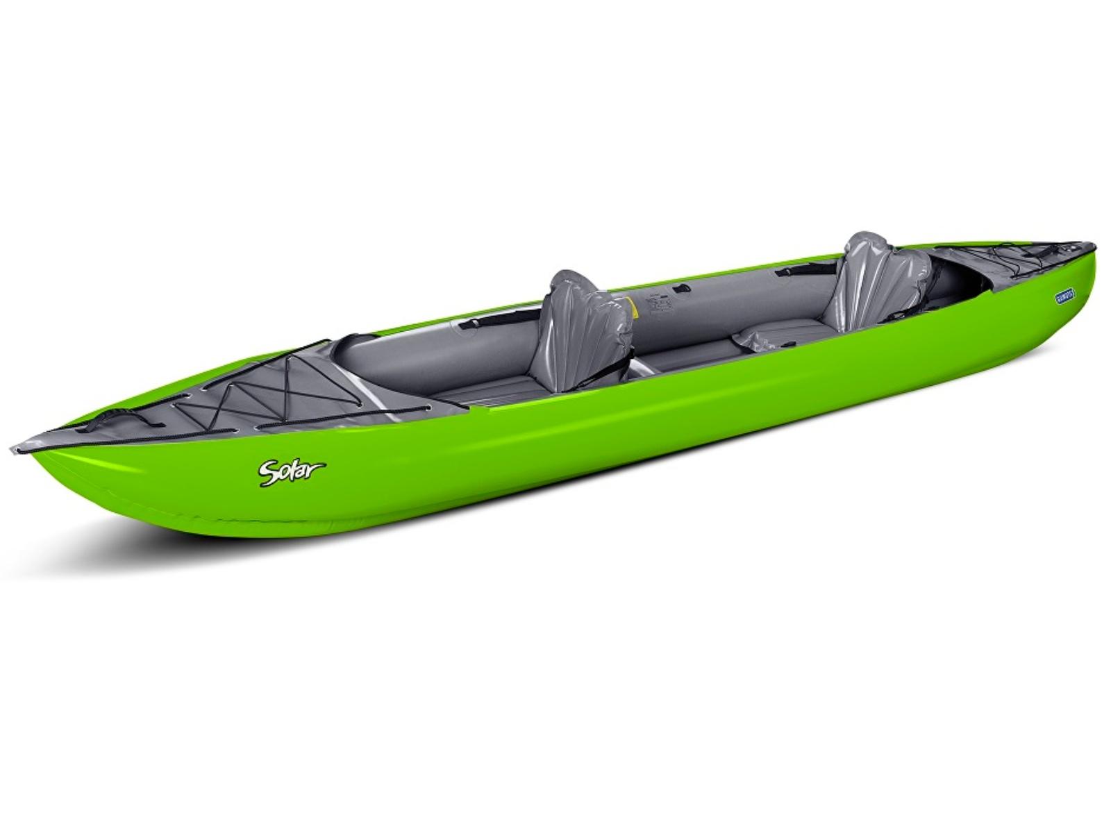 Nafukovací kajak GUMOTEX Solar 2 zeleno-šedý