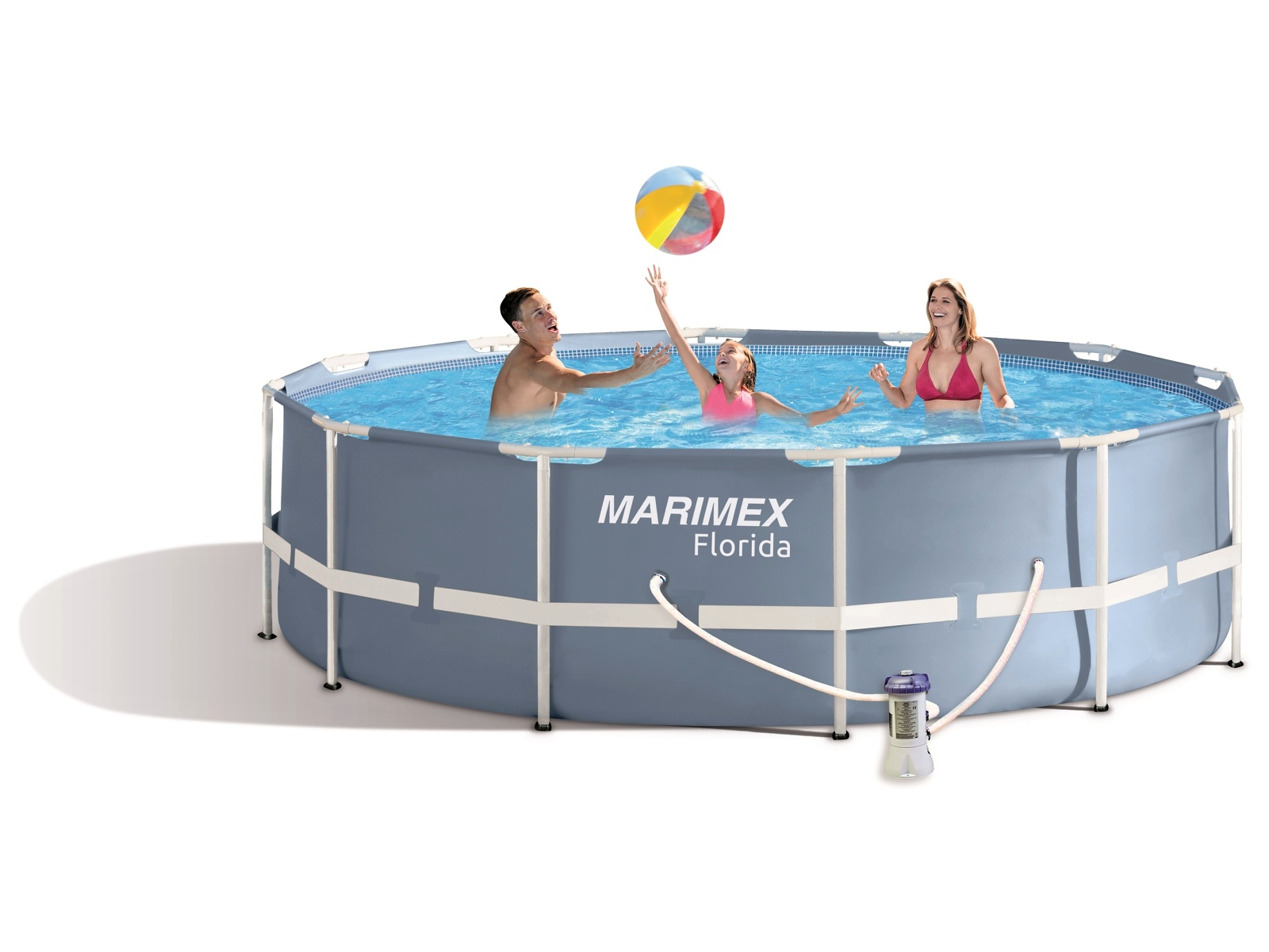 Bazén MARIMEX Florida 366 x 99 cm set s kartušovou filtrací