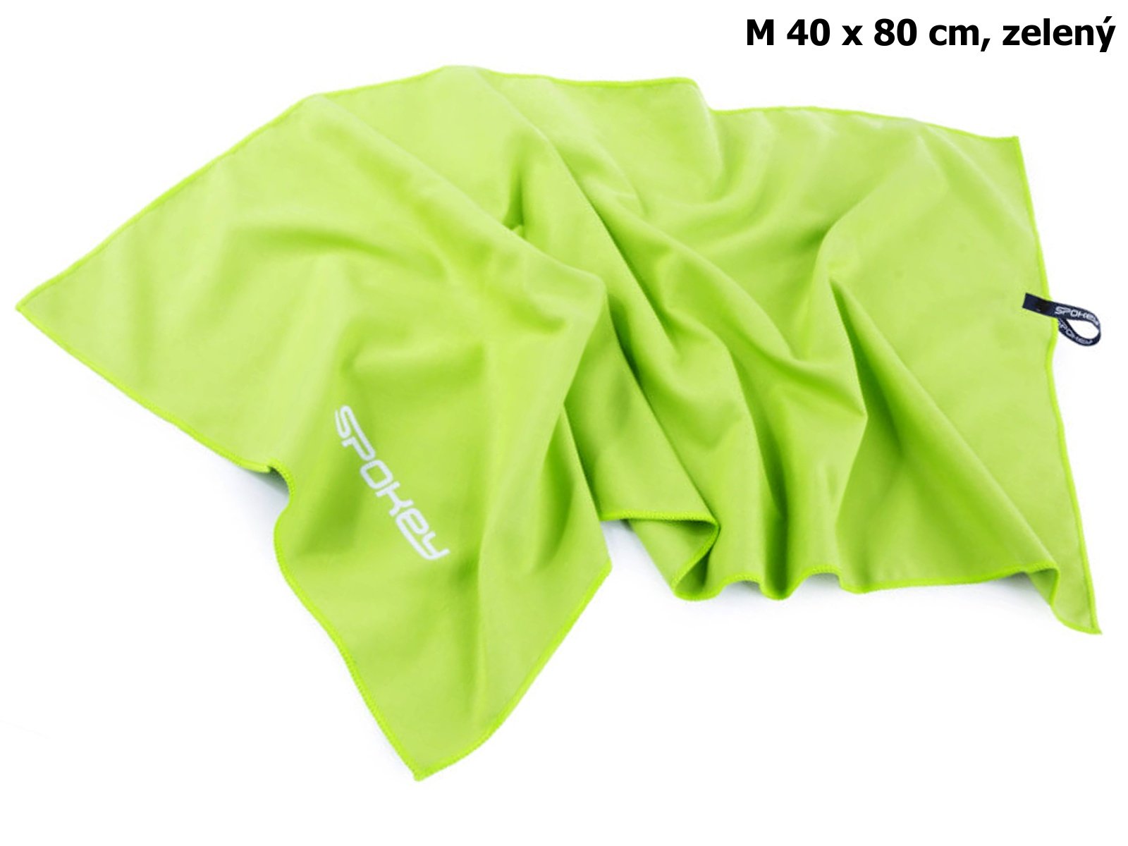 Rychleschnoucí ručník SPOKEY Sirocco M 40 x 80 cm, zelený