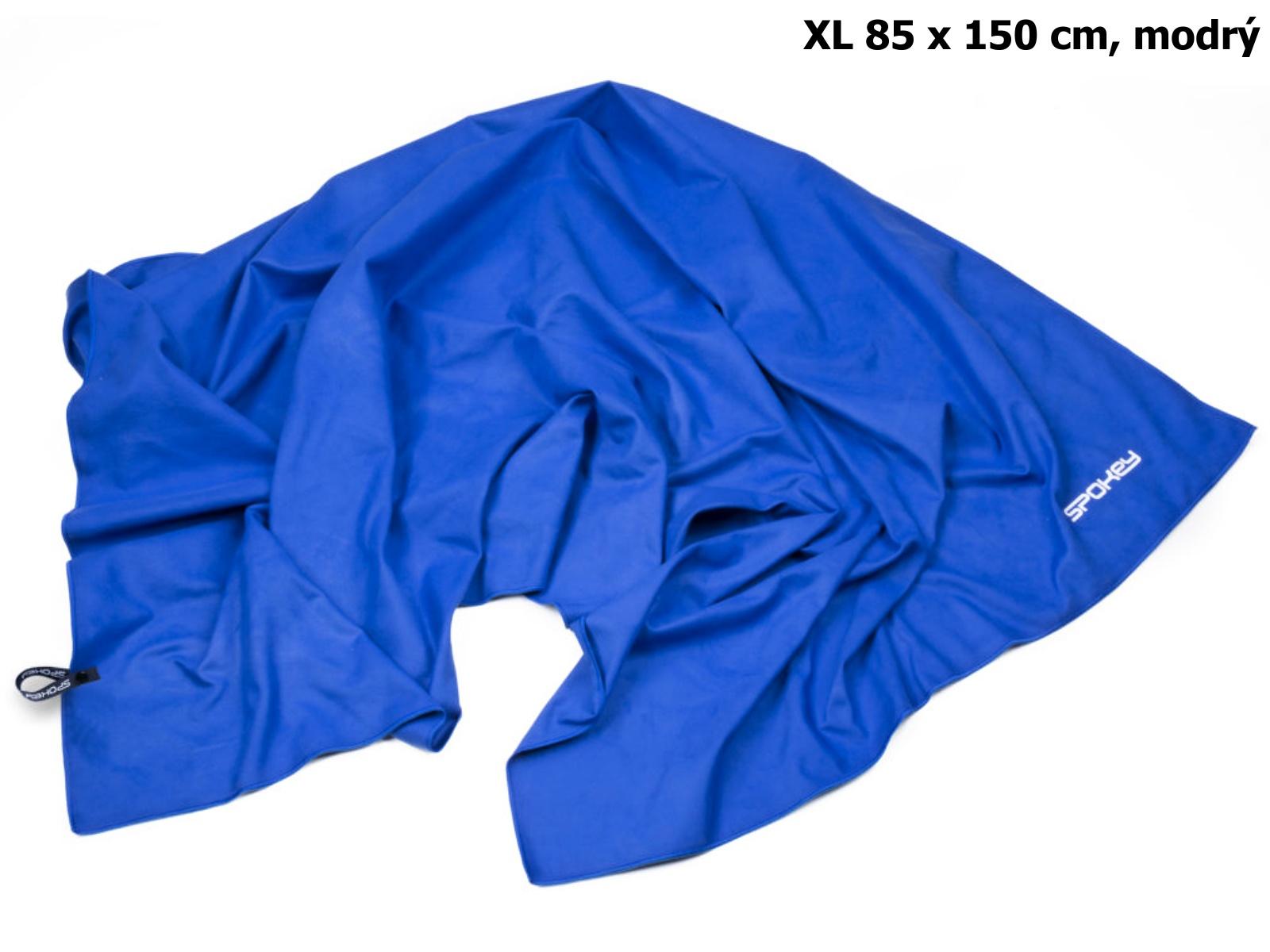 Rychleschnoucí ručník SPOKEY Sirocco XL 85 x 150 cm, modrý
