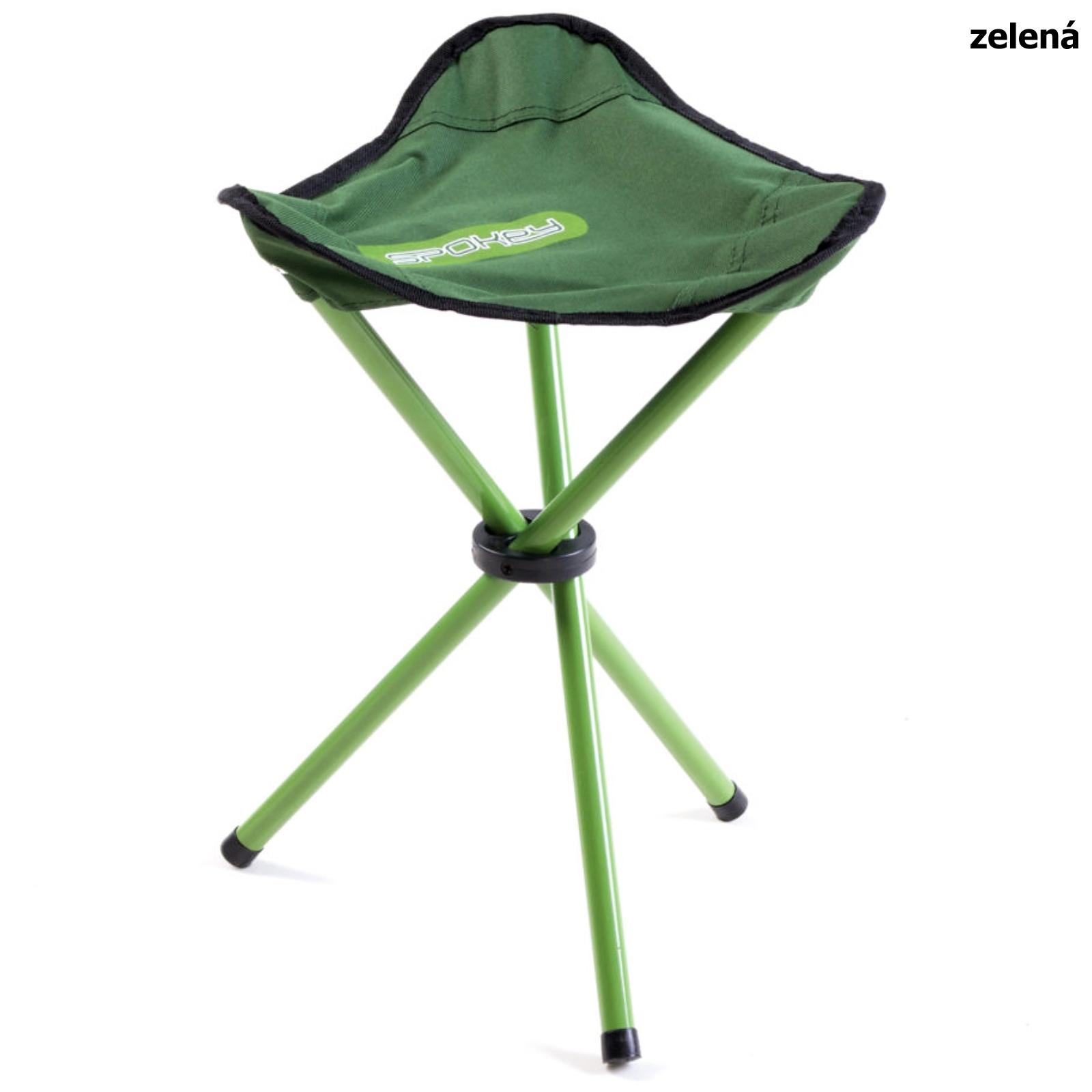 Turistická židle SPOKEY Pathook zelená