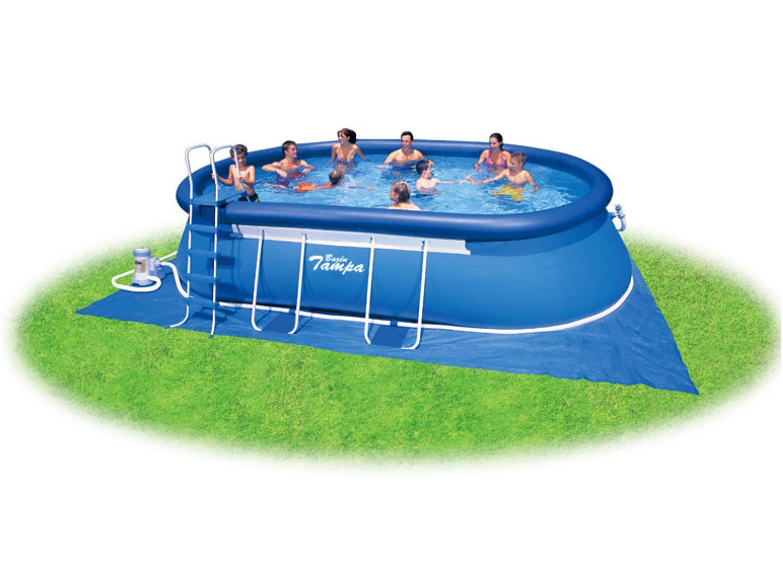 Bazén MARIMEX Tampa 549 x 305 x 107 cm ovál s kartušovou filtrací