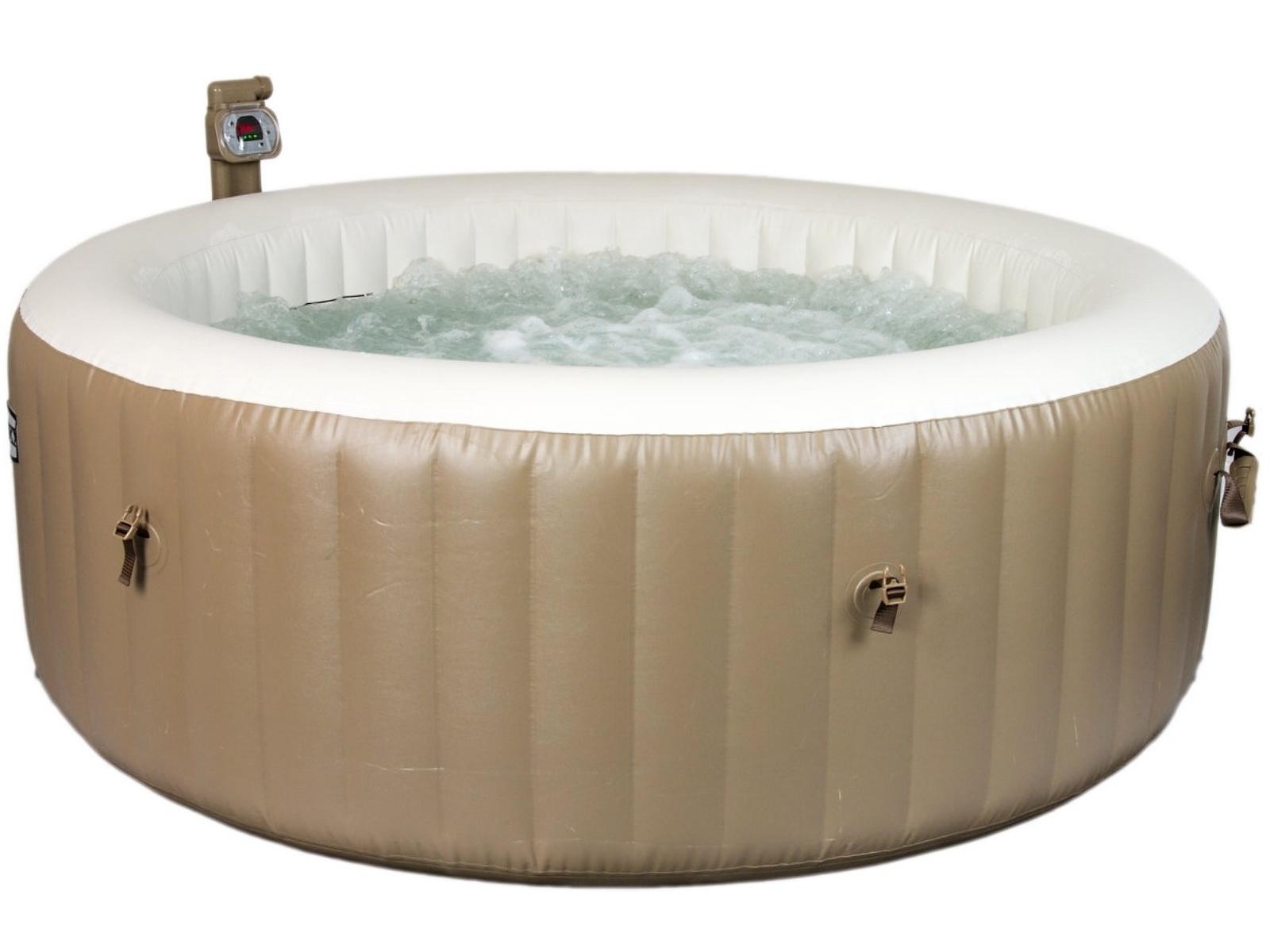 Vířivý bazén MARIMEX Pure Spa Bubble HWS - krémově hnědý