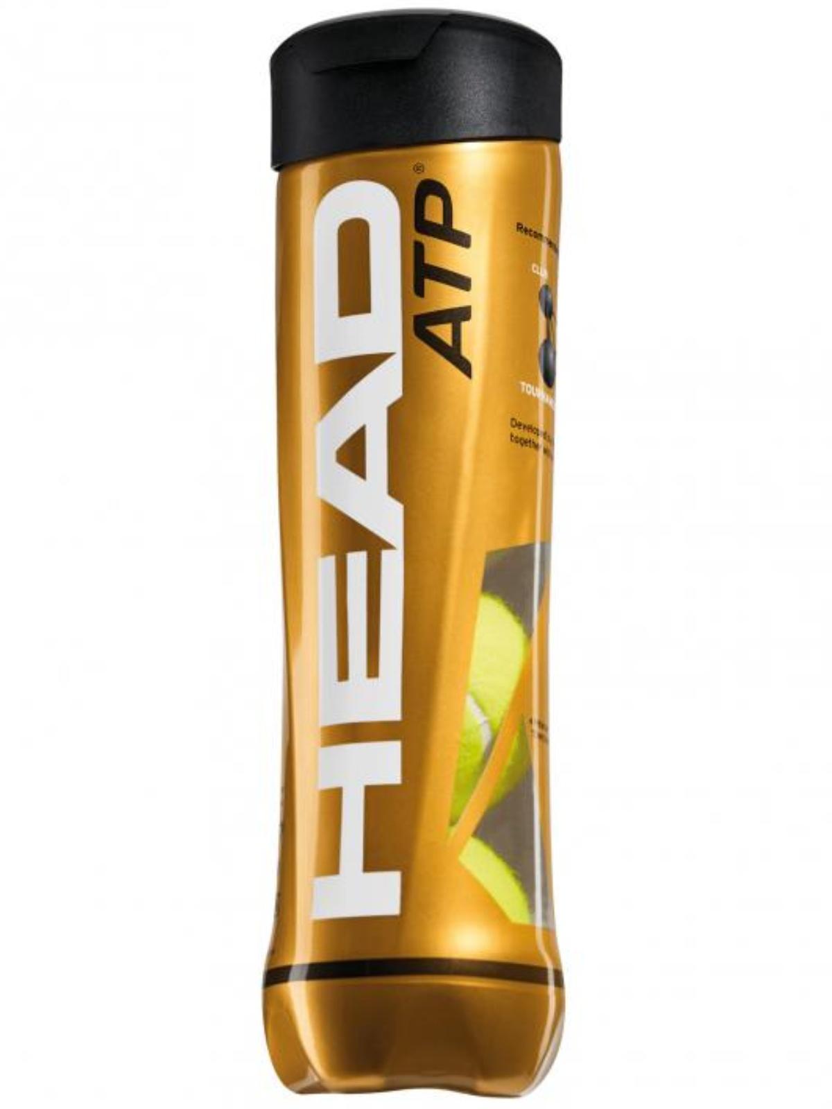 Tenisové míčky HEAD ATP metal 4 ks
