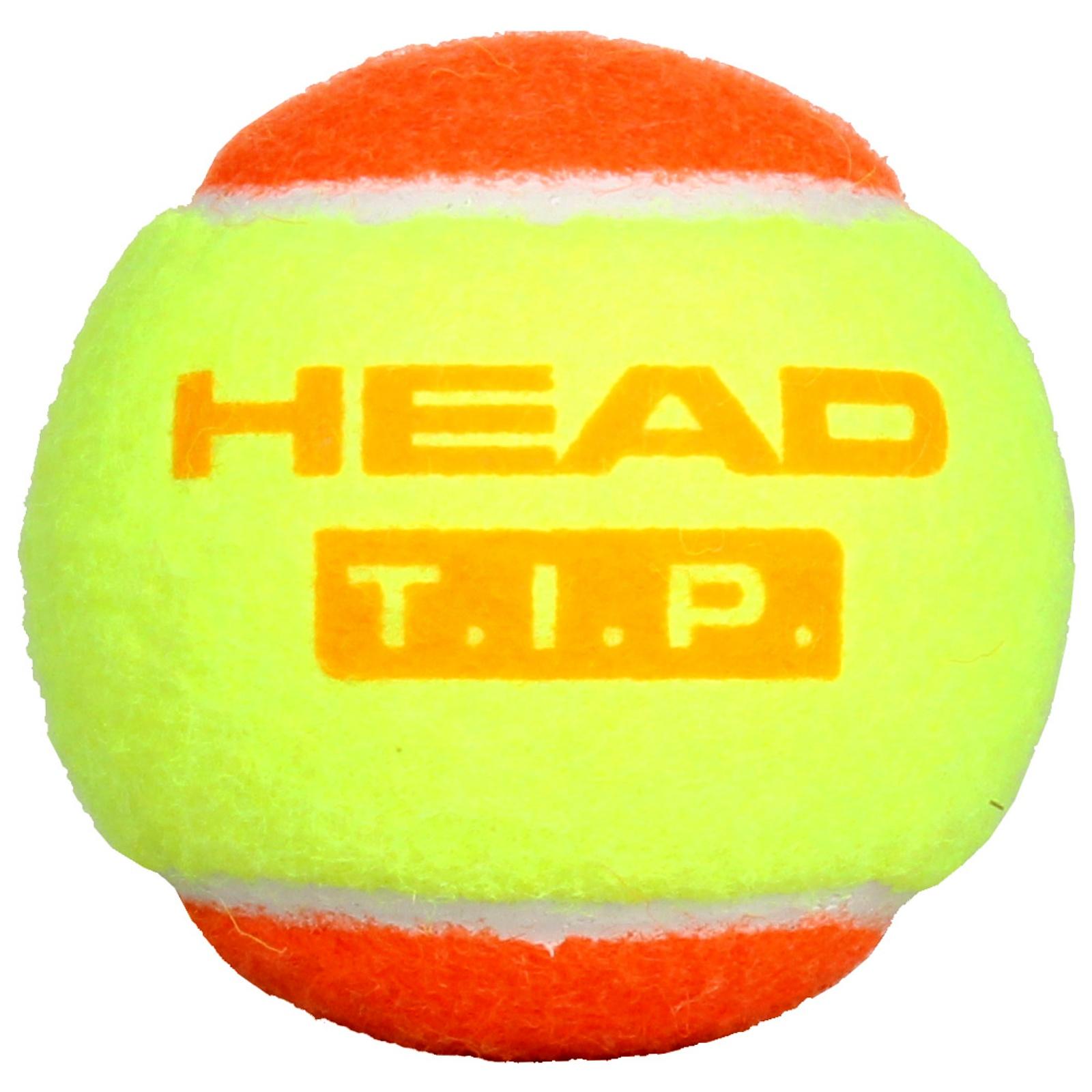Dětský tenisový míček HEAD T.I.P. Orange 1 ks