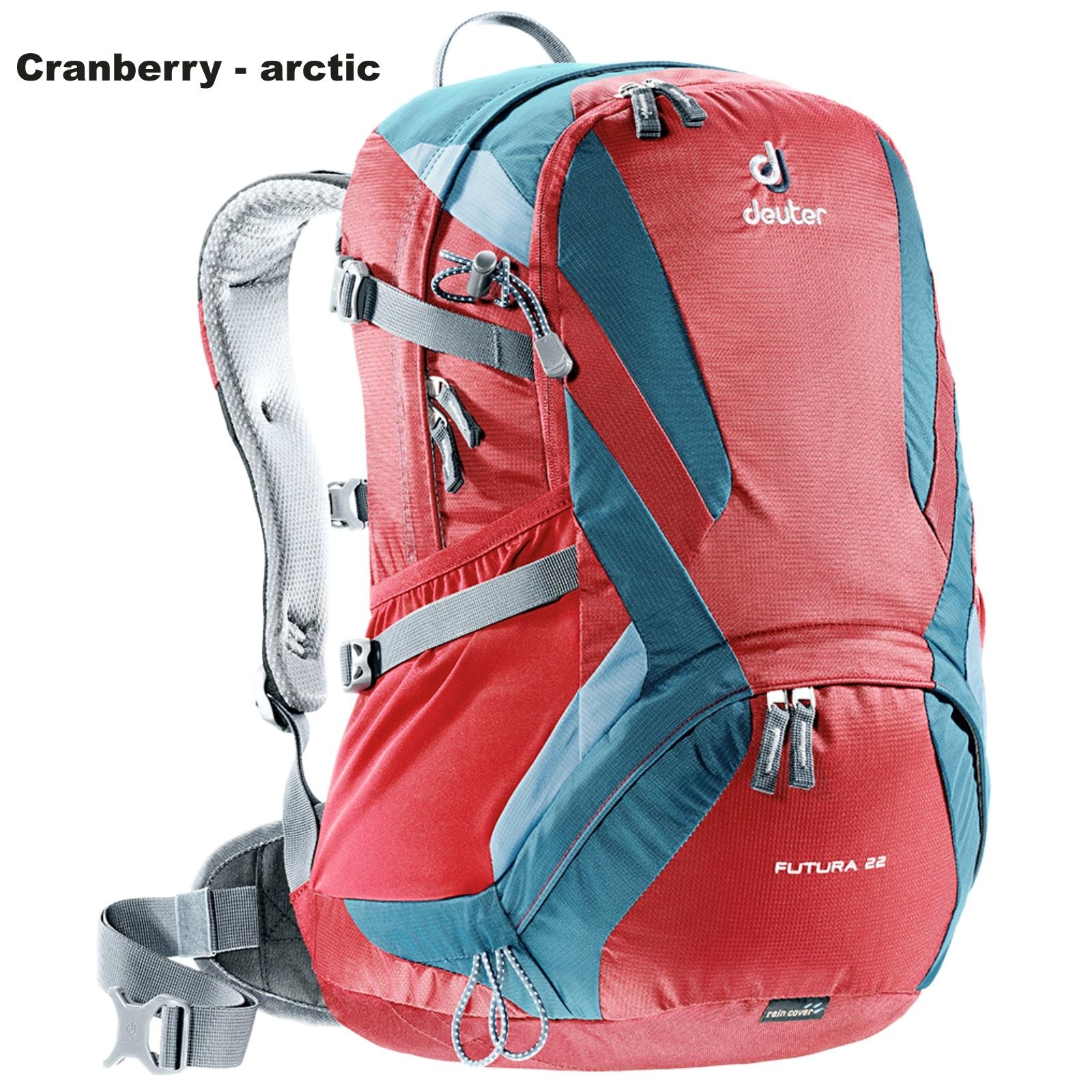 Batoh DEUTER Futura 22 l - cranberry-arctic