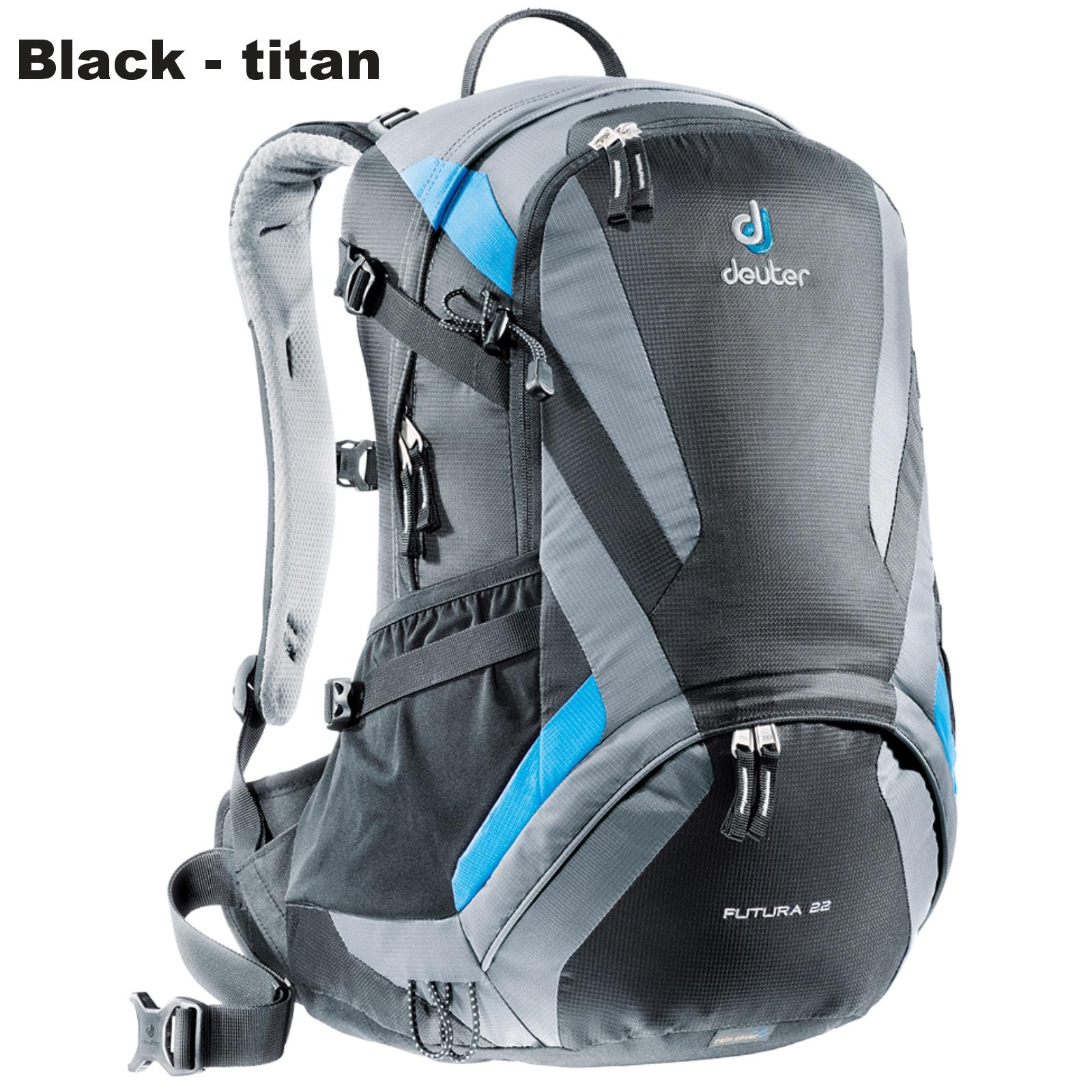 Batoh DEUTER Futura 22 l - black-titan