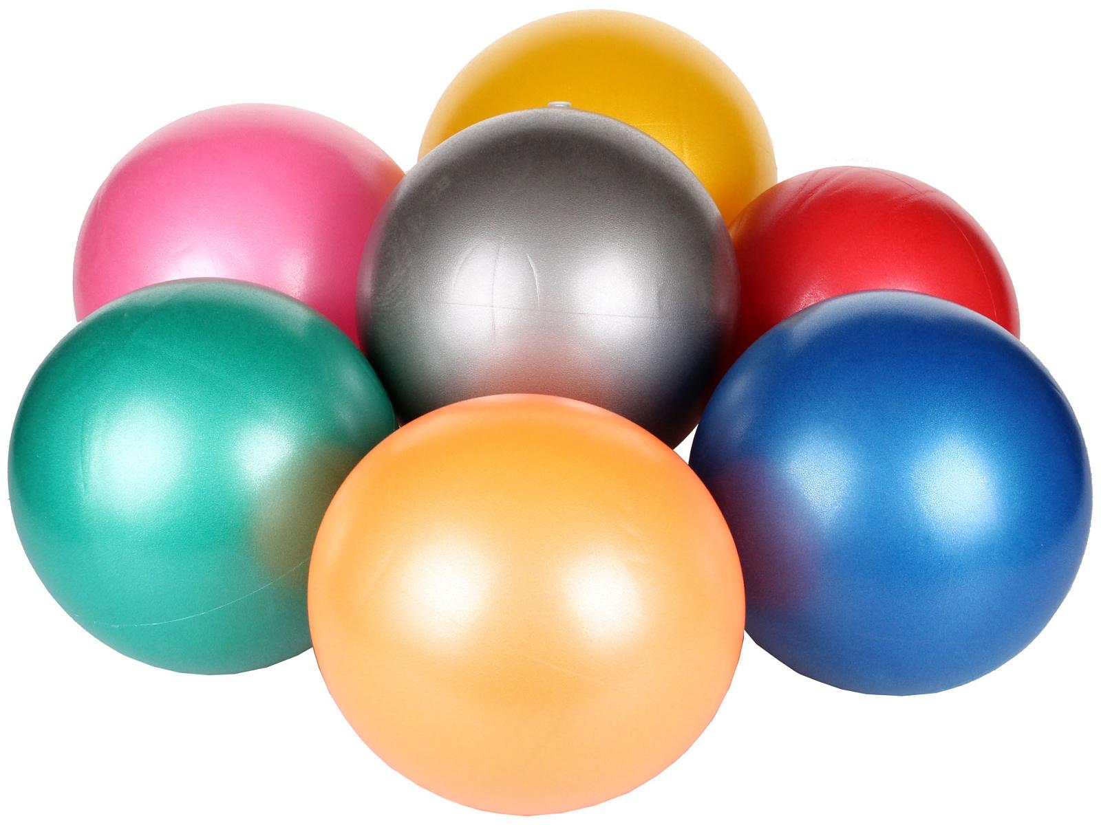 Gymnastický míč MERCO Overball Gym 25 cm - šedý