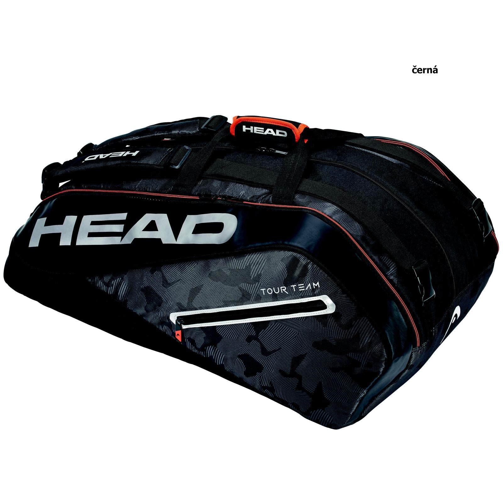 Tenisová taška HEAD Tour 12R Monstercombi - černá