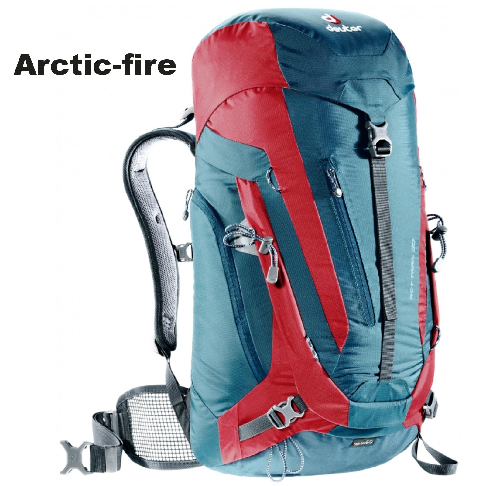 Batoh DEUTER ACT TRAIL 30 l - arctic-fire
