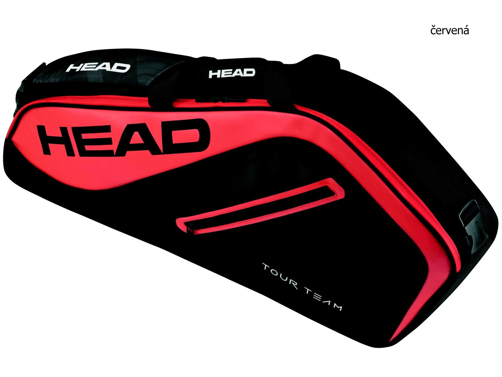 Tenisová taška HEAD Tour 9R Supercombi - červená