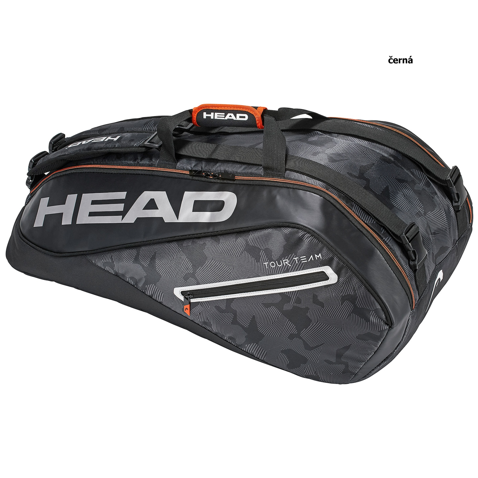Tenisová taška HEAD Tour 9R Supercombi - černá