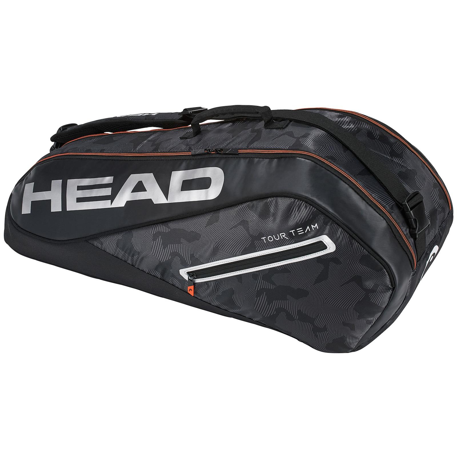 Tenisová taška HEAD Tour 6R Combi - černá