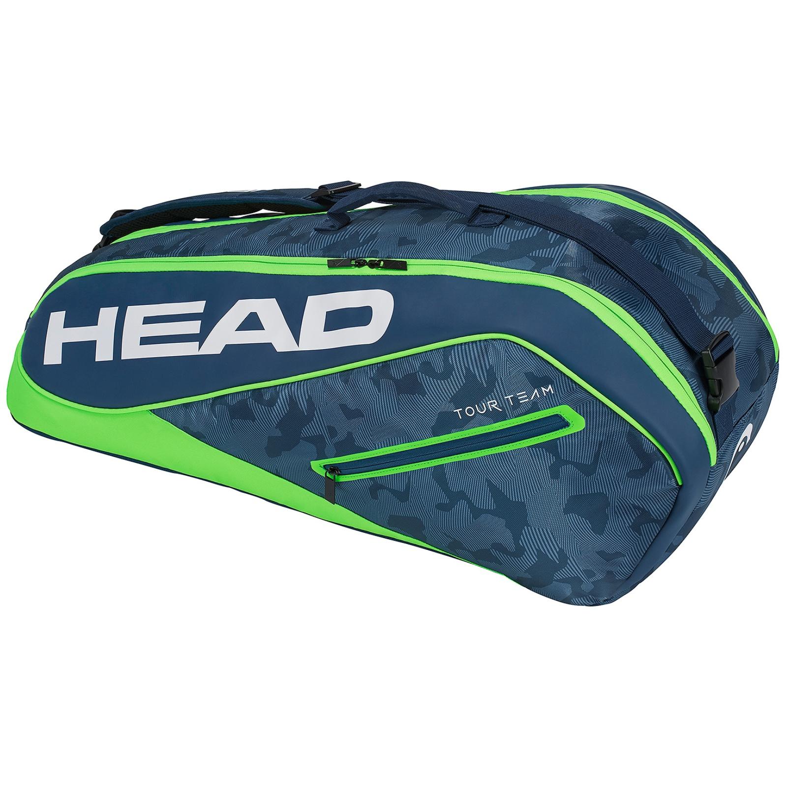 Tenisová taška HEAD Tour 6R Combi - zelená