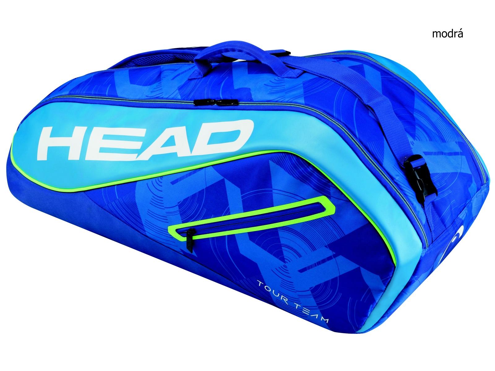 Tenisová taška HEAD Tour 6R Combi - modrá