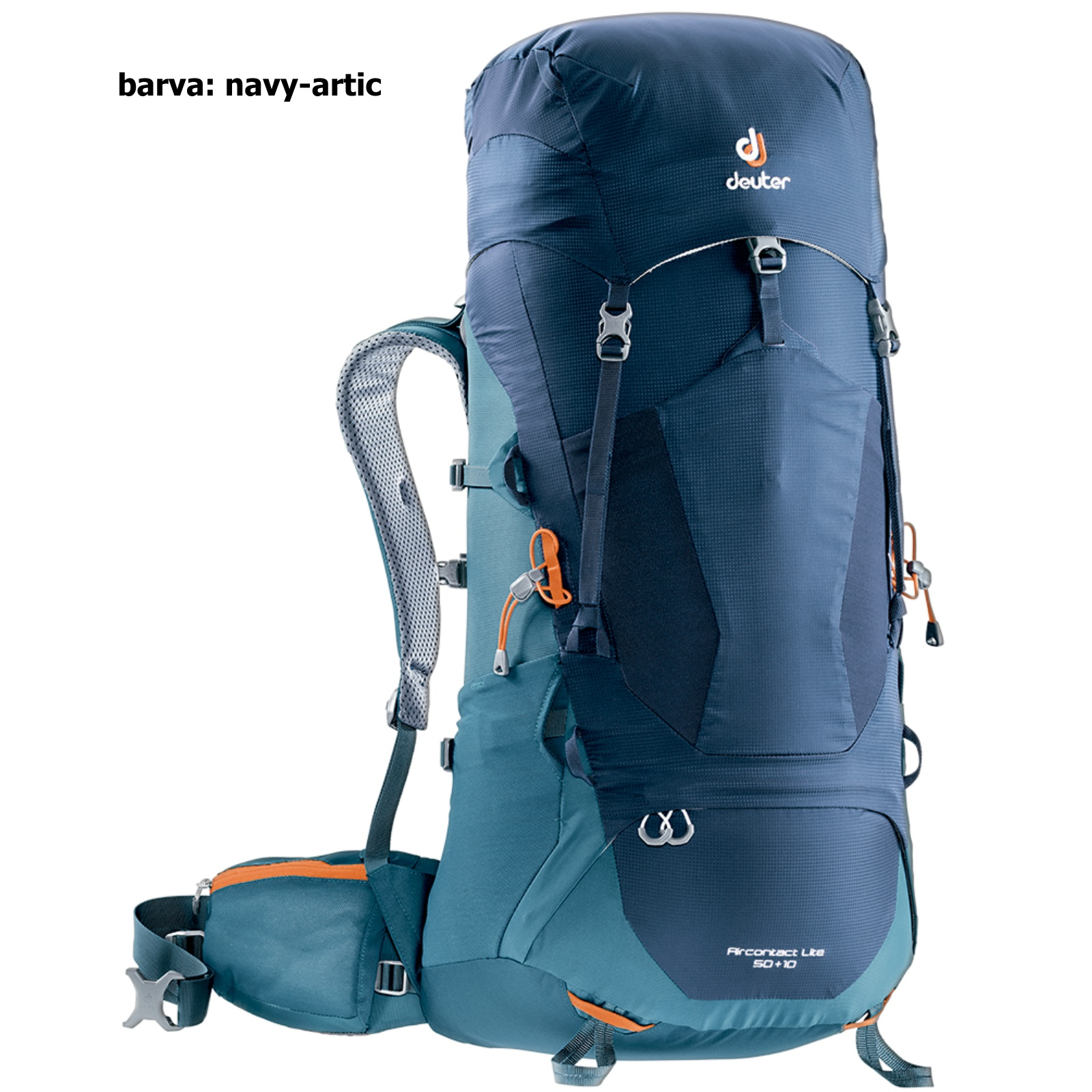 Batoh DEUTER ACT Lite 50+10 l - navy-artic fa509cb3eb
