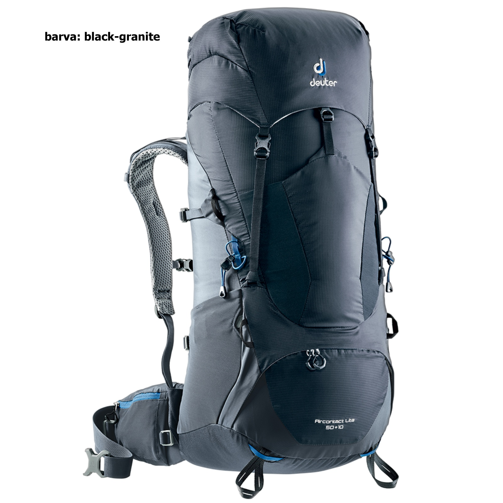 Batoh DEUTER ACT Lite 50+10 l - black-granite e68c1bbadc