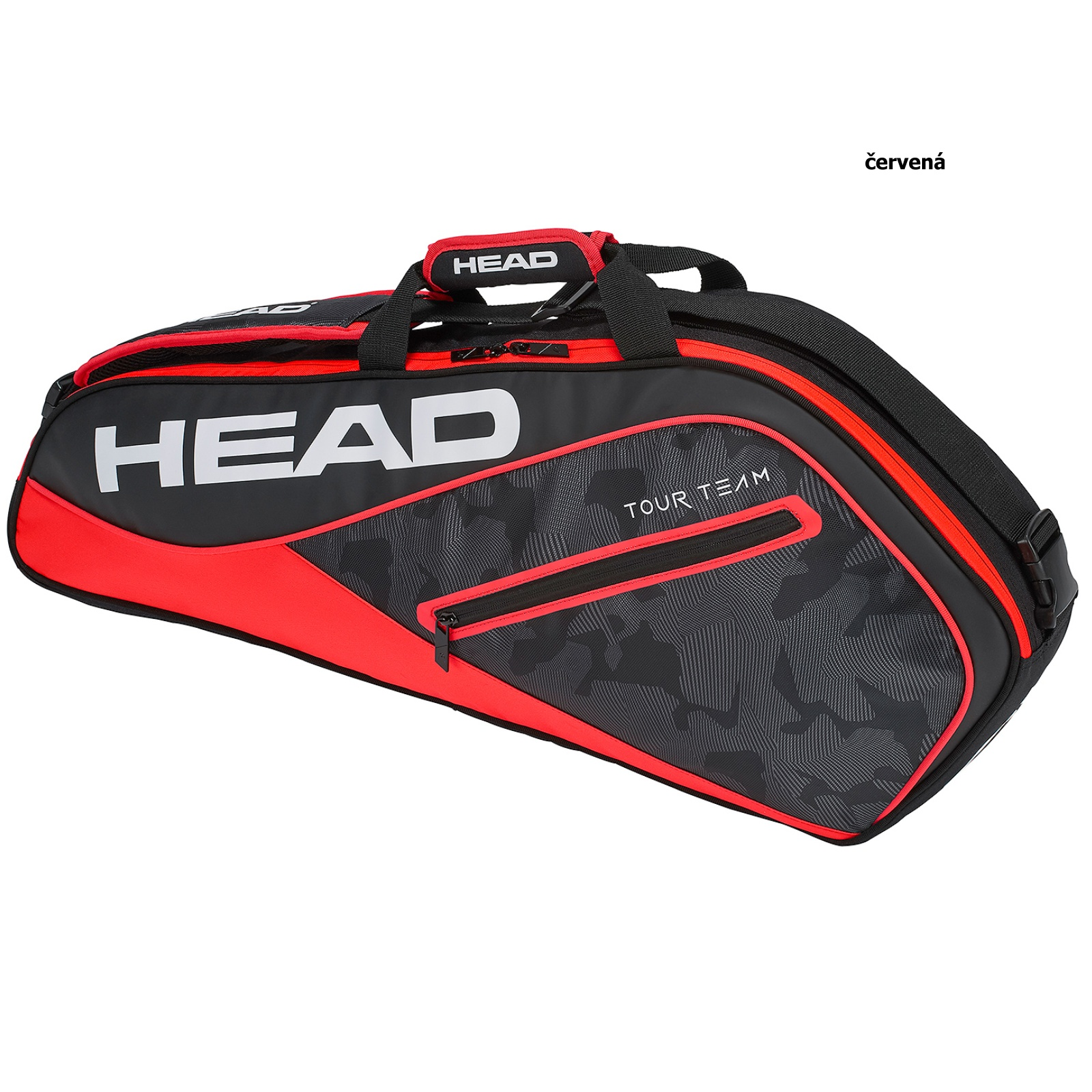 Tenisová taška HEAD Tour 3R Pro - červená