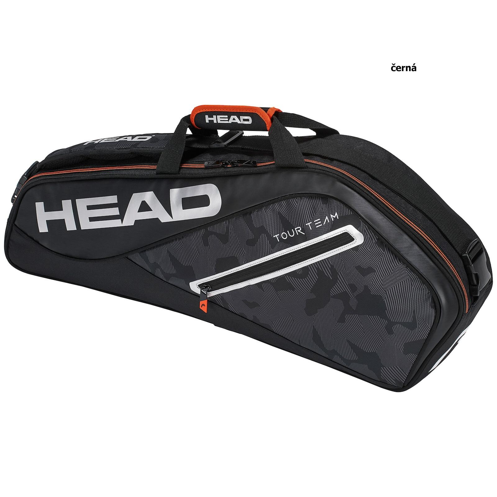 Tenisová taška HEAD Tour 3R Pro - černá