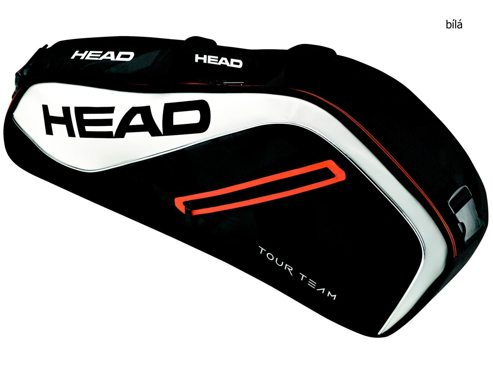Tenisová taška HEAD Tour 3R Pro - bílá