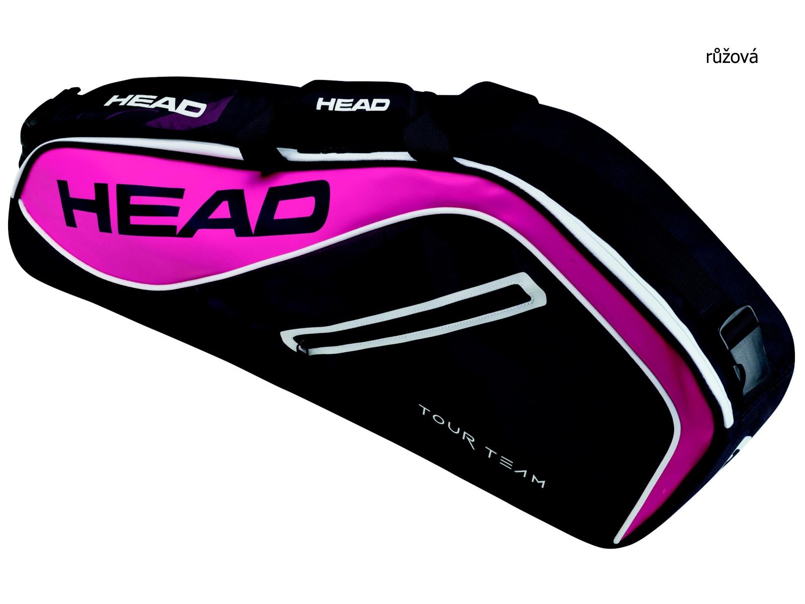 Tenisová taška HEAD Tour 3R Pro - růžová